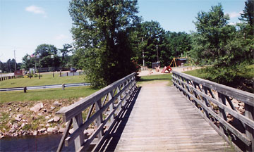 Walk Bridge to Lion's Park